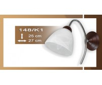 Wandlampe Prinz 148/K1