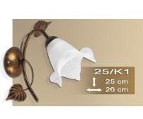Wandlampe Ritter 25-K1