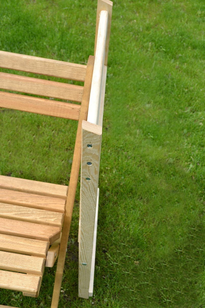 klappstuhl holz 43 x 80 cm gartenstuhl stuhl garten terrasse fertig montiert neu ebay. Black Bedroom Furniture Sets. Home Design Ideas