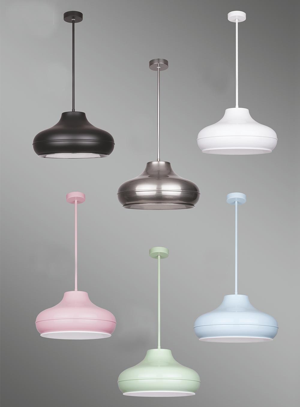 Beti 1 moderne pendellampe hängelampe art deco design lampe chrome