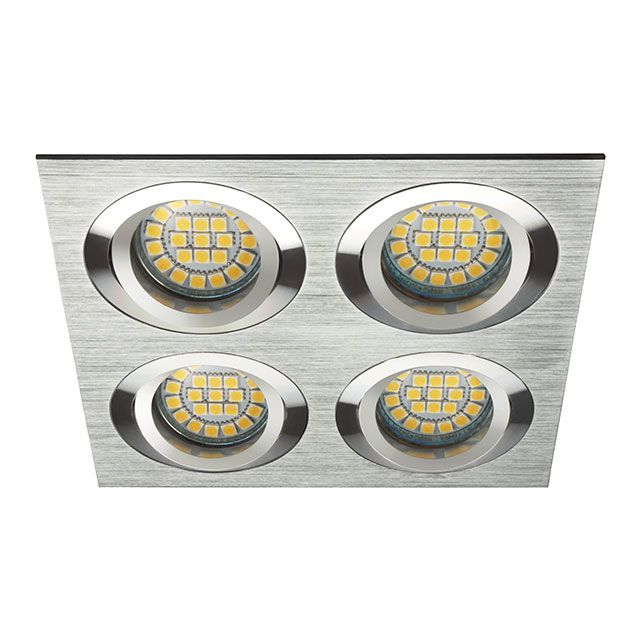 einbaustrahler mr16 gu10 220v led decken spot einbauleuchte halogen kl sd4 ebay. Black Bedroom Furniture Sets. Home Design Ideas
