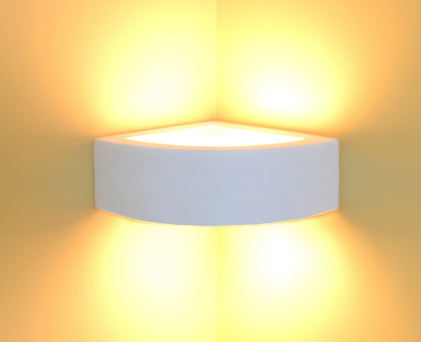 Wall Corner Lamps : Wall Lamp Light Ceramic Style 1002 Corner Lamp LEDs Suitable Best Quality NEW eBay