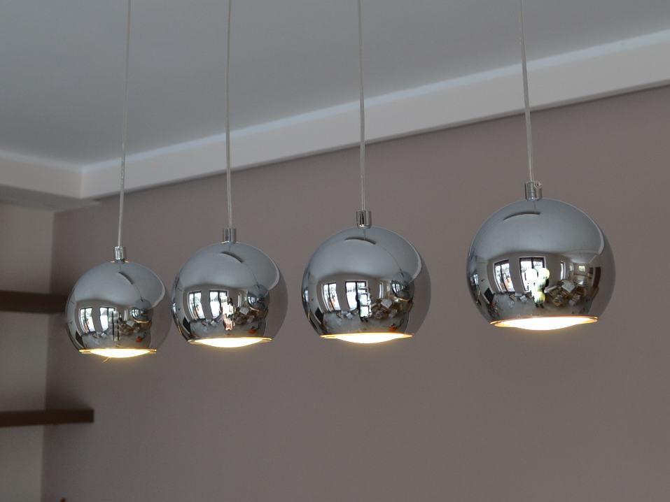 led h ngelampe cala 4 h ngeleuchte pendellampe designer lampe 20 watt led top ebay. Black Bedroom Furniture Sets. Home Design Ideas