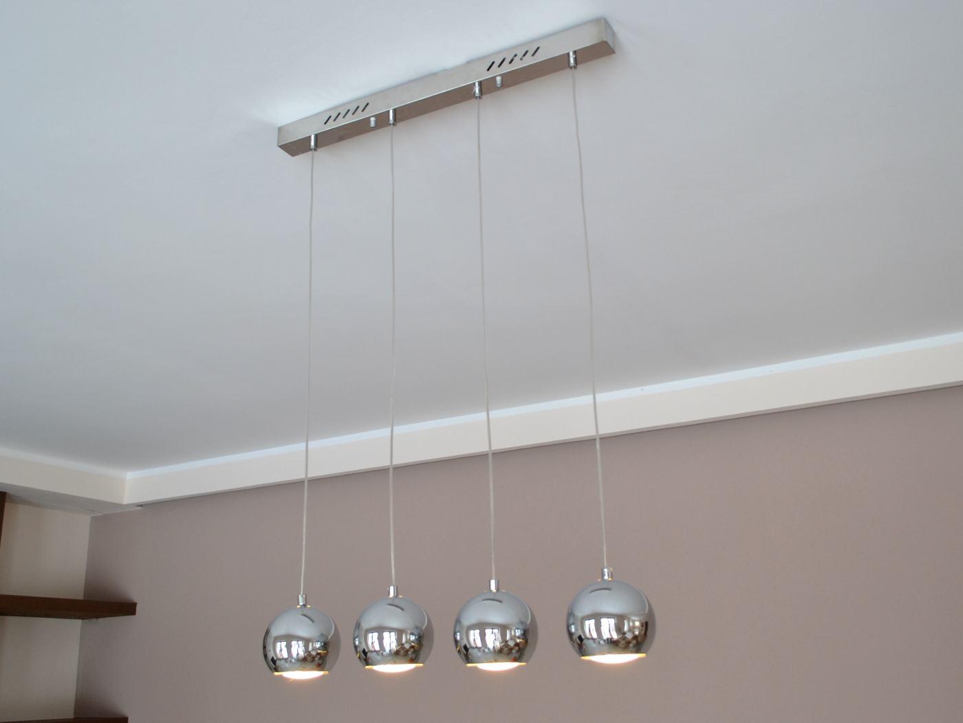 led h ngelampe cala 4 h ngeleuchte pendellampe designer lampe 20 watt top neu ebay. Black Bedroom Furniture Sets. Home Design Ideas