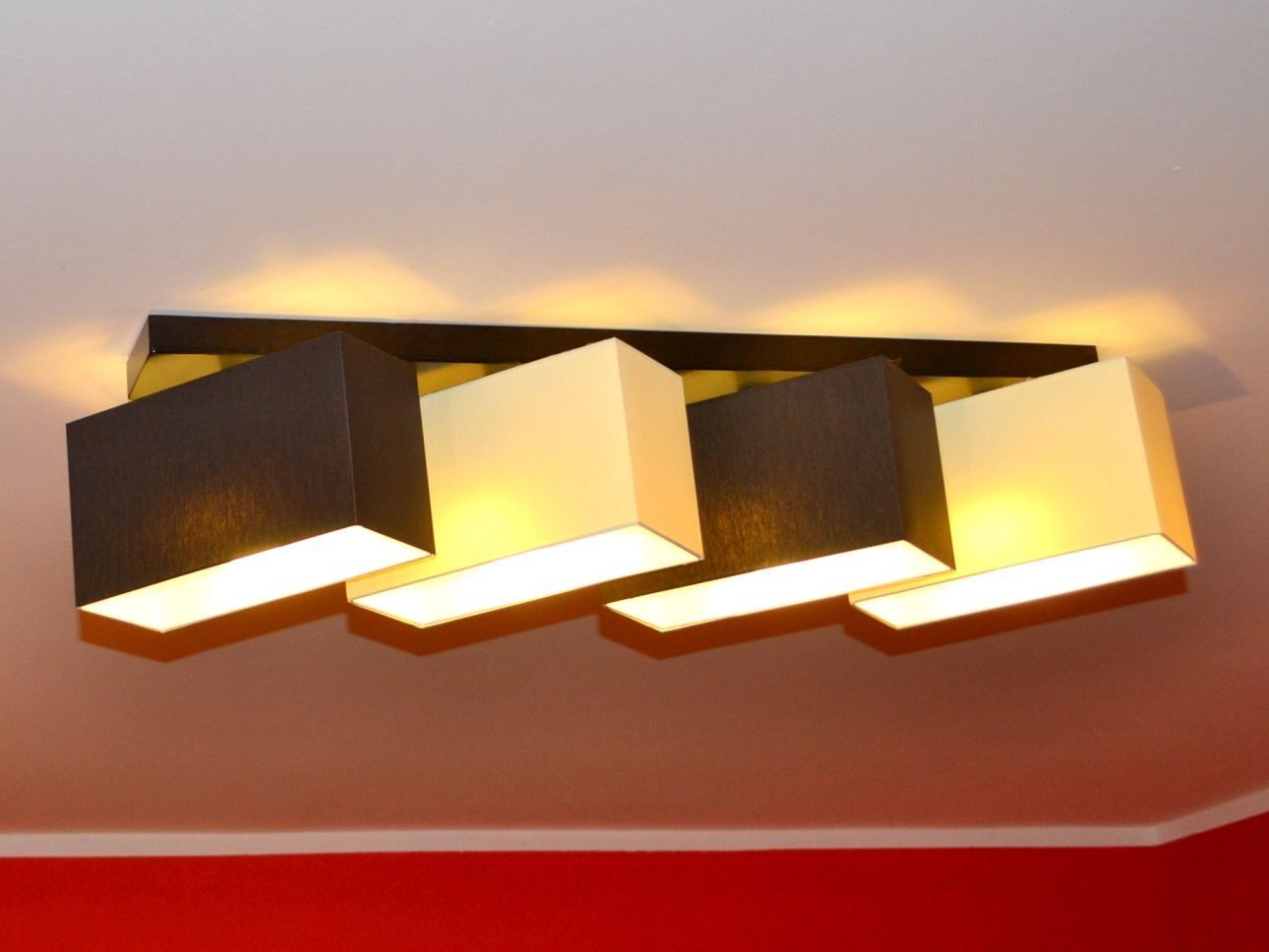 deckenlampe deckenleuchte lampe leuchte 4 flammig edles design edel merano b4dl. Black Bedroom Furniture Sets. Home Design Ideas