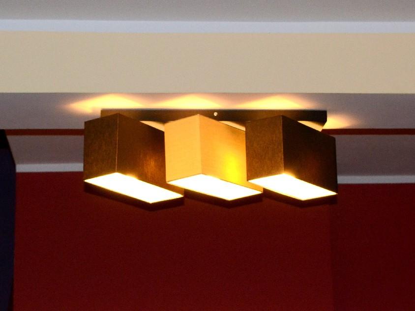 Deckenlampe Deckenleuchte Lampe Leuchte 3 Flammig TOP Design Merano B3D NEU OVP