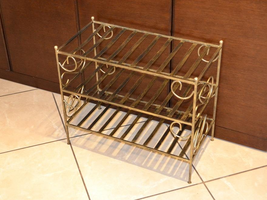 schuhregal schuhschrank schuhst nder edel antik metall top. Black Bedroom Furniture Sets. Home Design Ideas