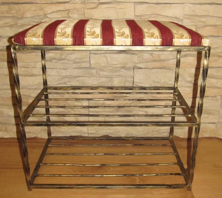 schuhregal sitzbank schuhschrank schuhst nder adam ad 01. Black Bedroom Furniture Sets. Home Design Ideas