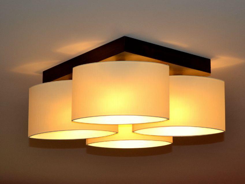 Deckenlampe deckenleuchte lampe leuchte 4 flammig top for Wohnzimmer lampe 6 flammig